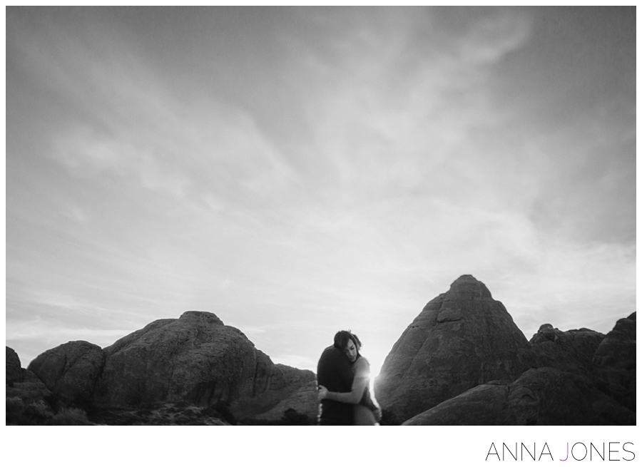 engagement shoot at arches national park