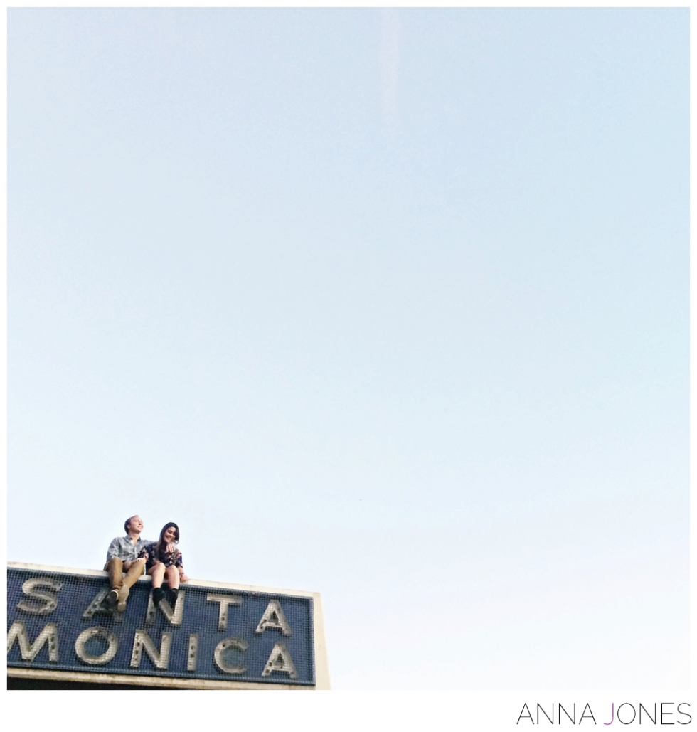 Santa Monica Engagement Shoot by Anna Jones Photography > www.annajon.es