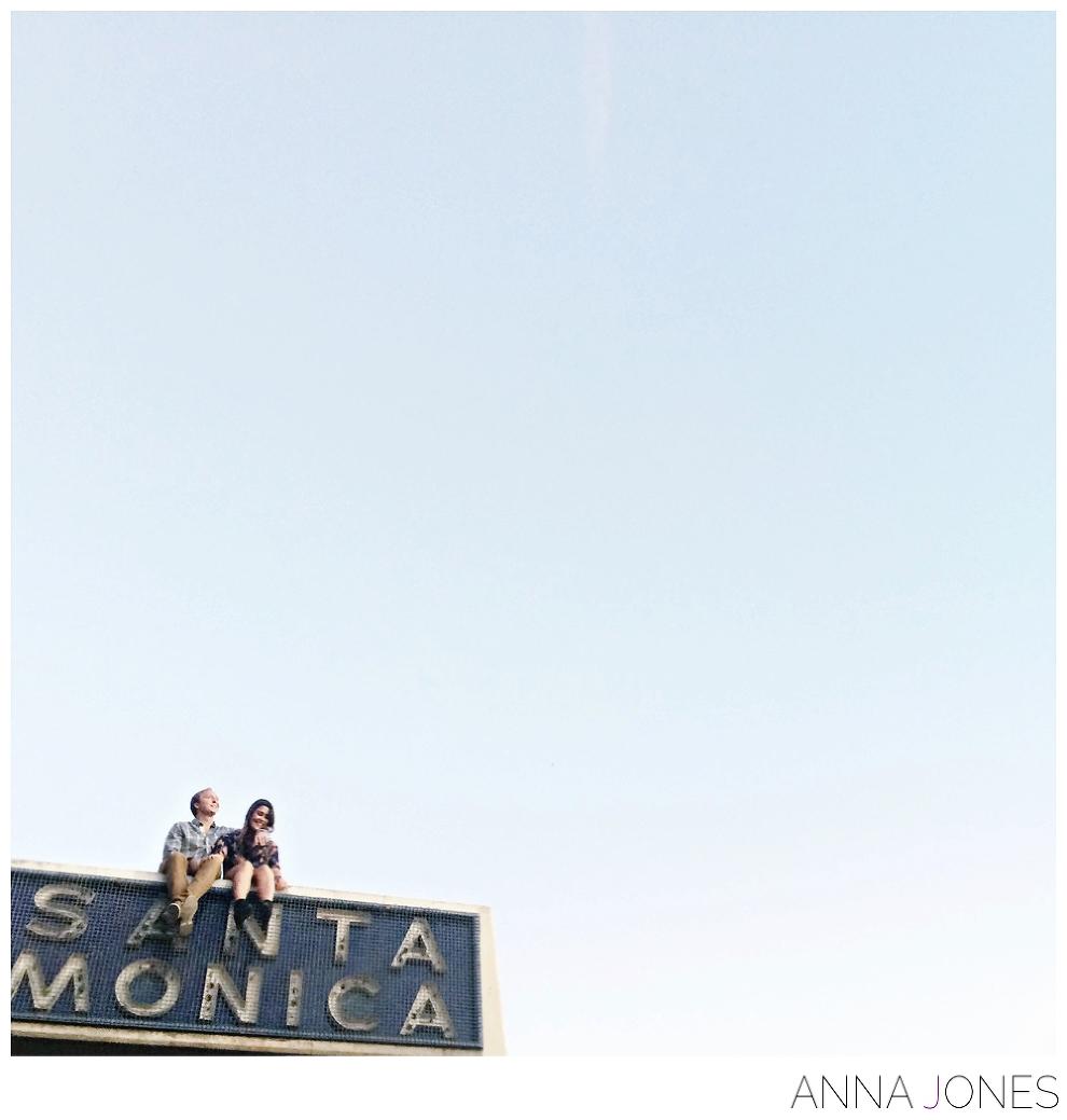 Santa Monica Engagement Shoot by Anna Jones Photography > www.annajon.es