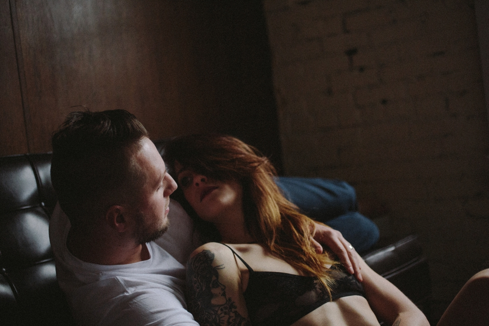 an intimate session for Sean and Melanie Flanigan of a fist full of bolts
