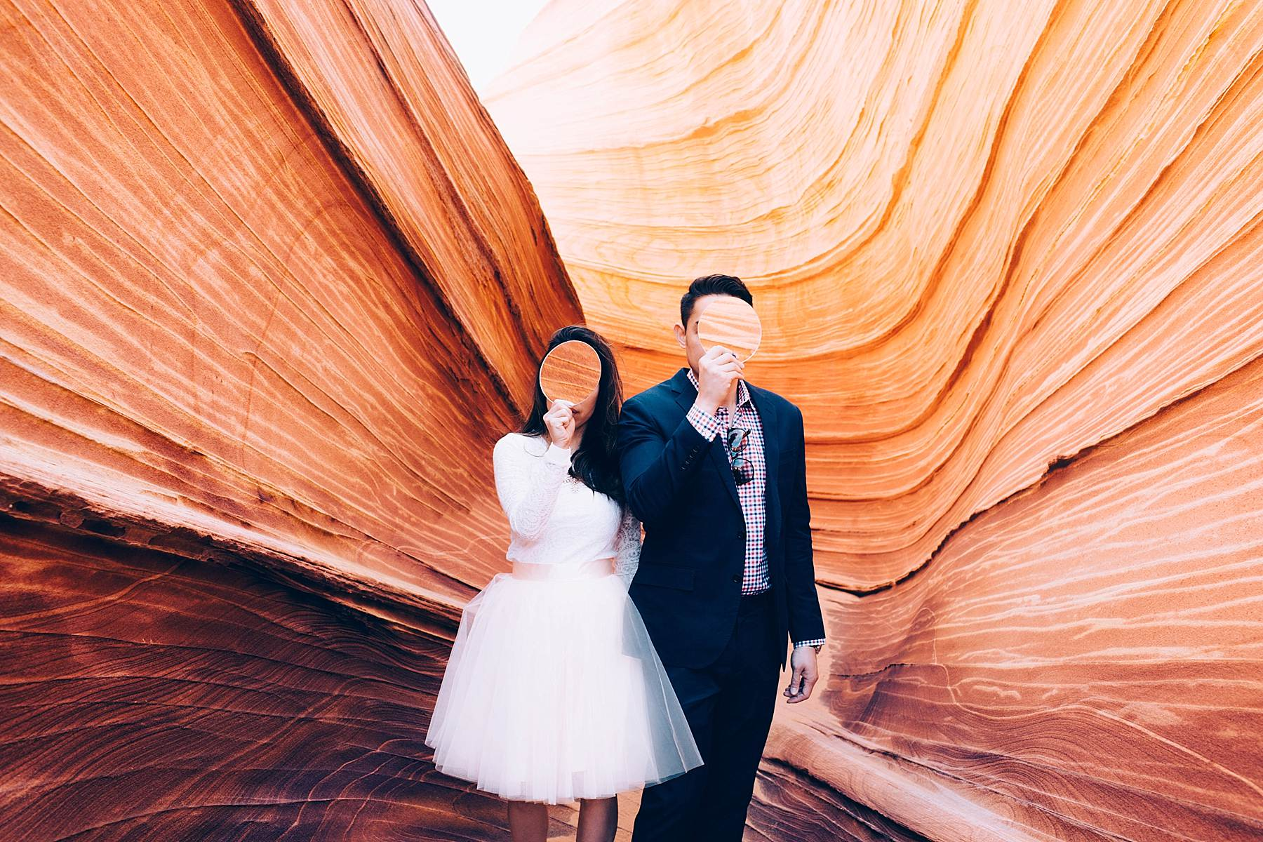 An Engagement Shoot At The Wave In Arizona Anna Jones Photography