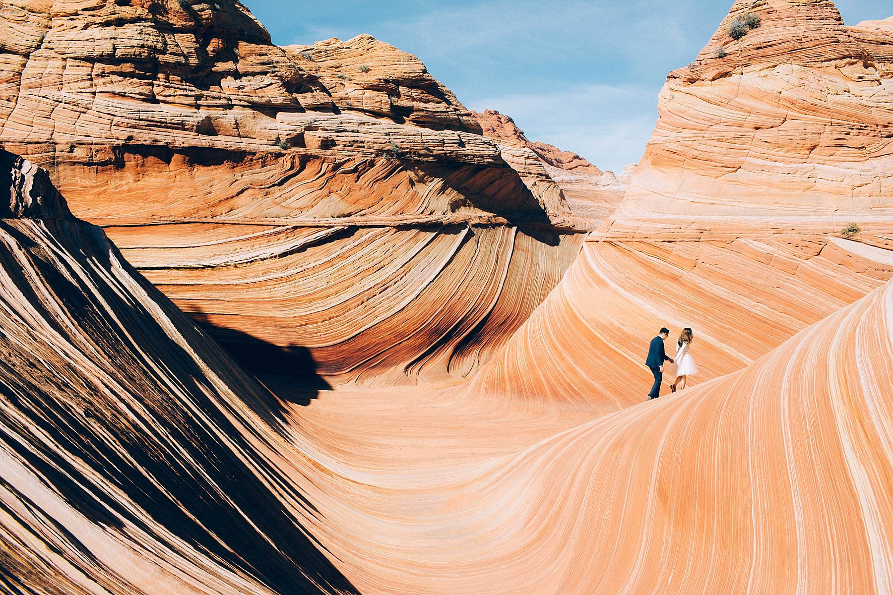 An Elopement at The Wave in Arizona