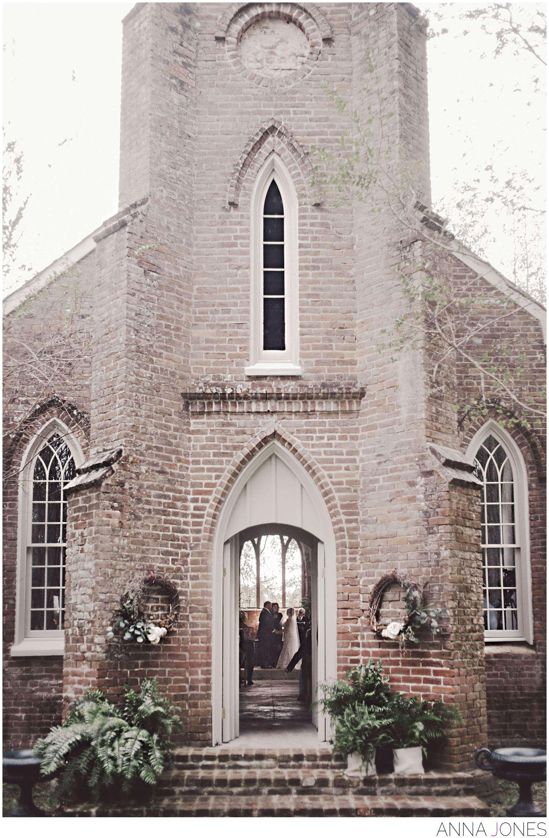 St. Mary's Episcopal Church Wedding St. Francisville, Louisiana
