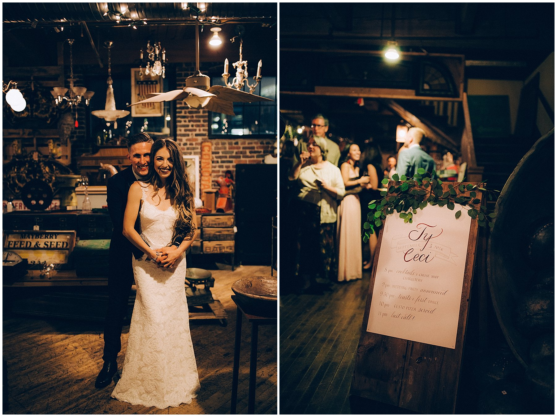 west end architectural salvage wedding des Moines