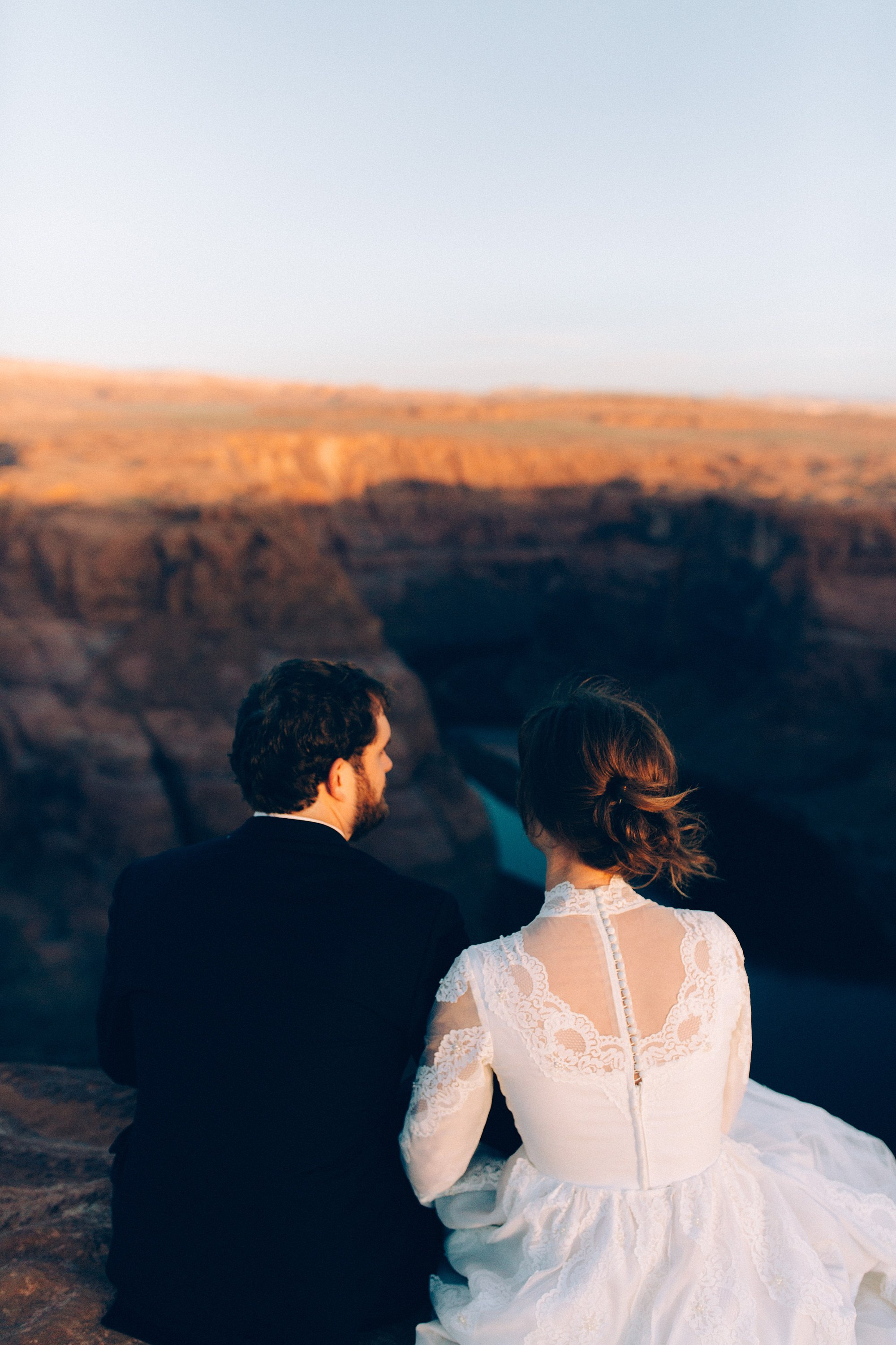 horseshoe bend wedding elopement photographer