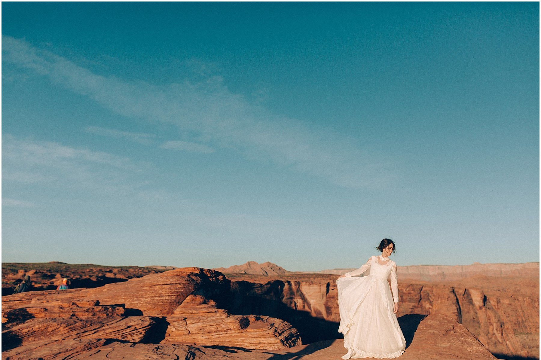 horseshoe bend elopement by anna jones