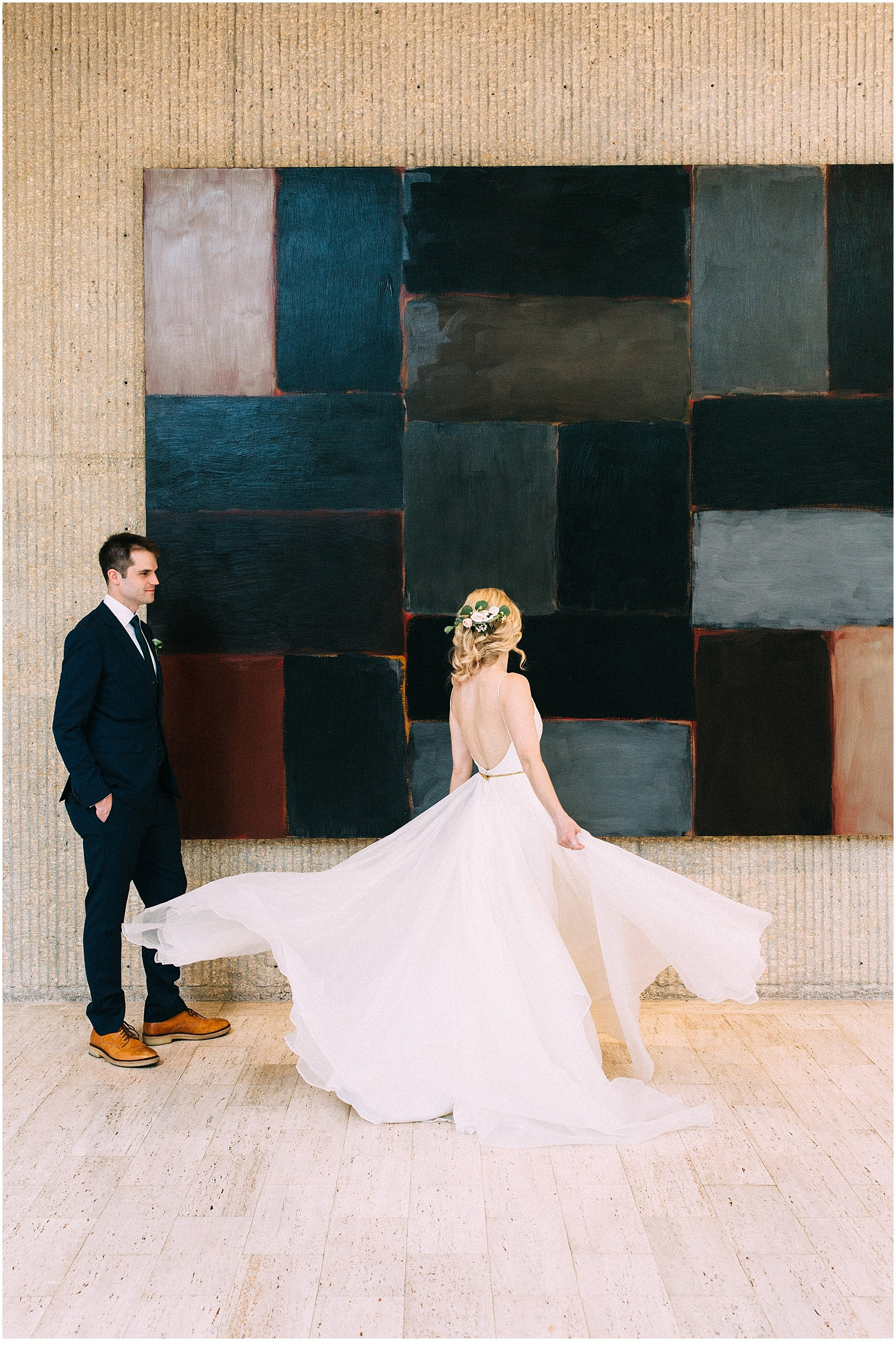des moines art center wedding by anna jones