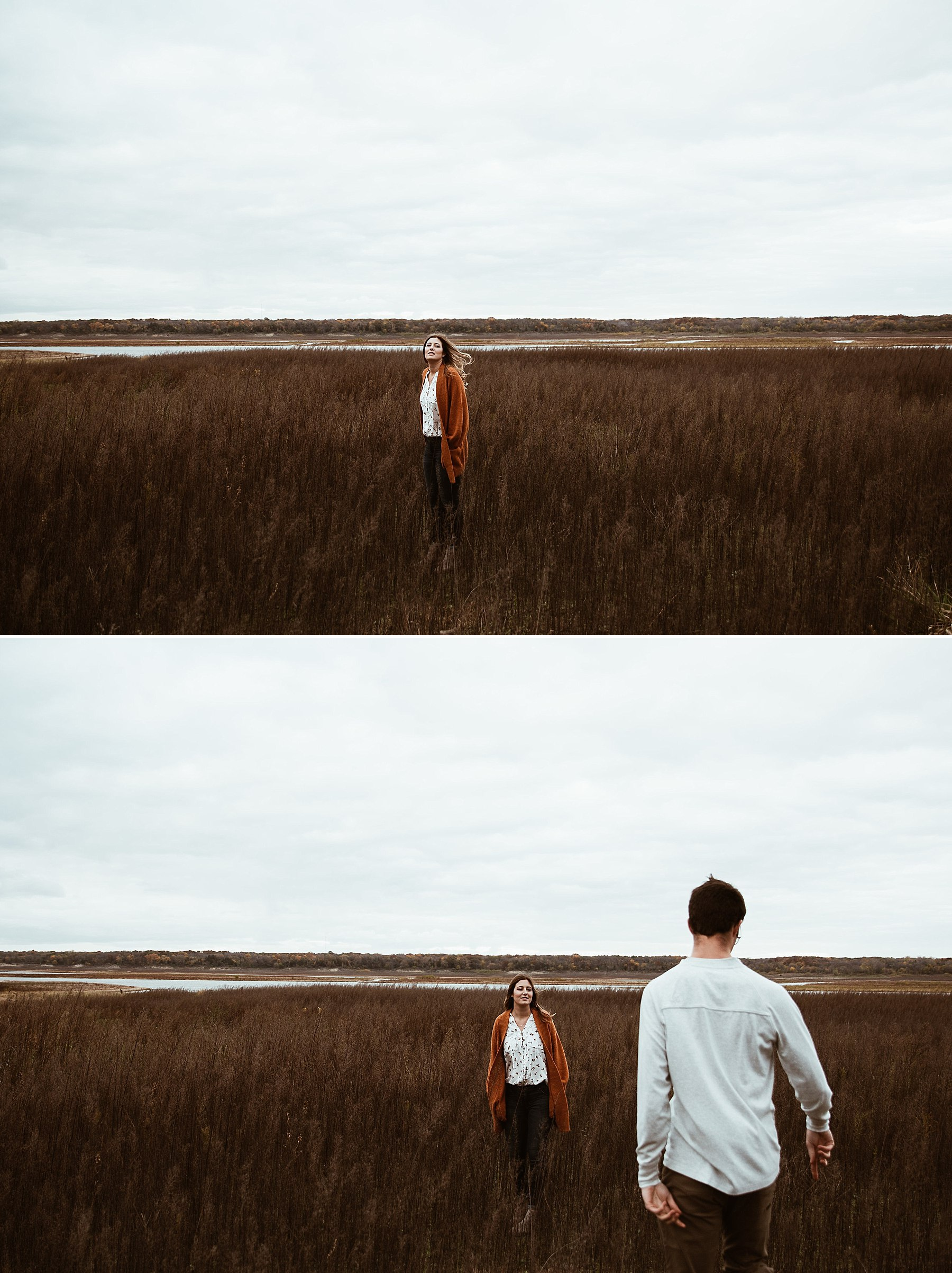Engagement session at saylorville