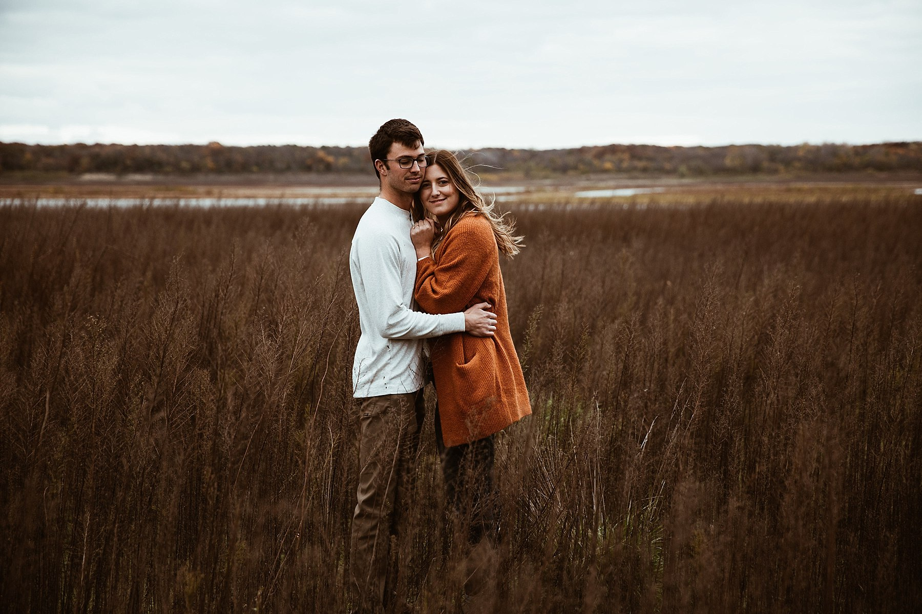 Des Moines Iowa Engagement session