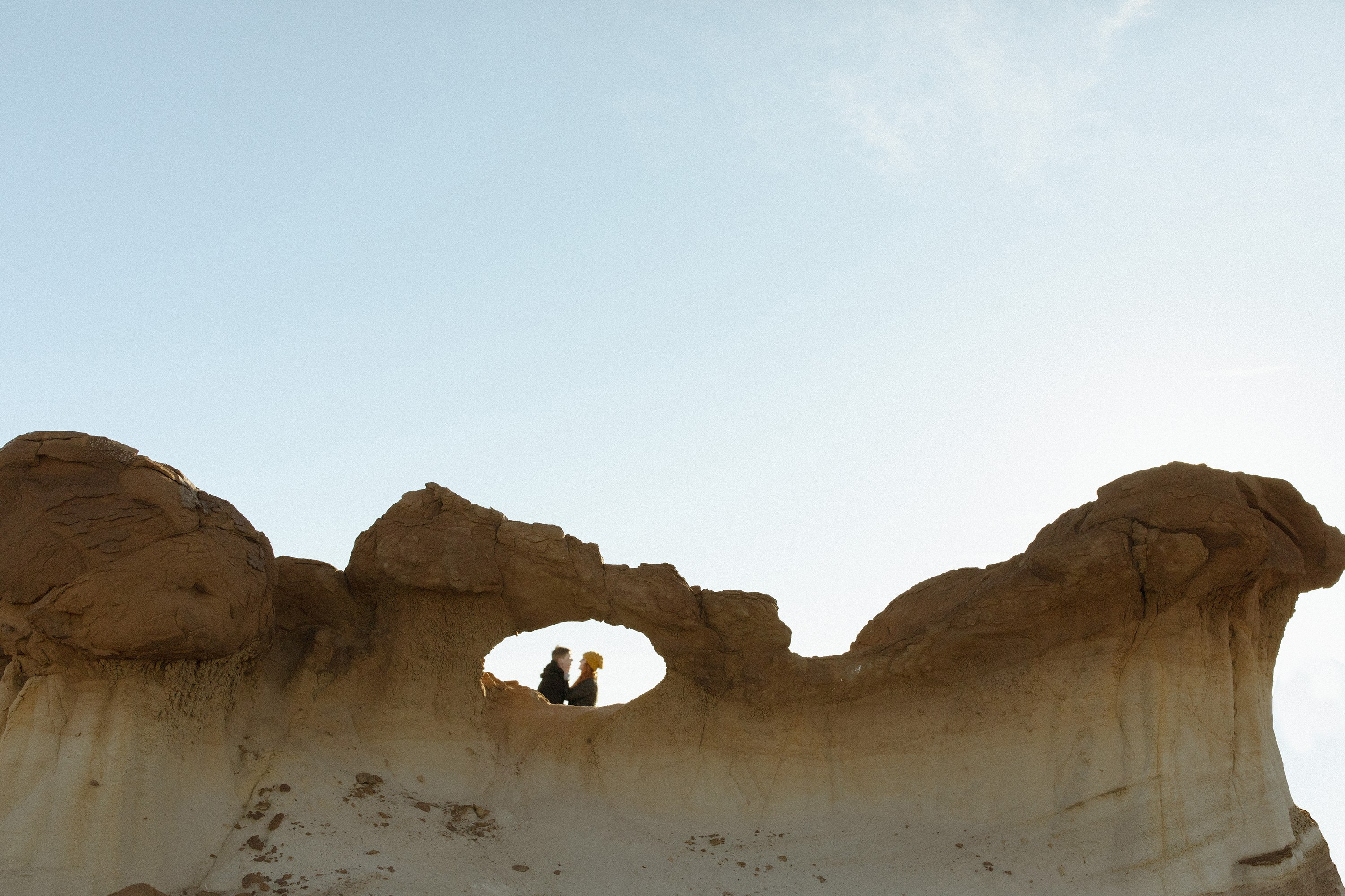 Bisti wilderness engagement New Mexico