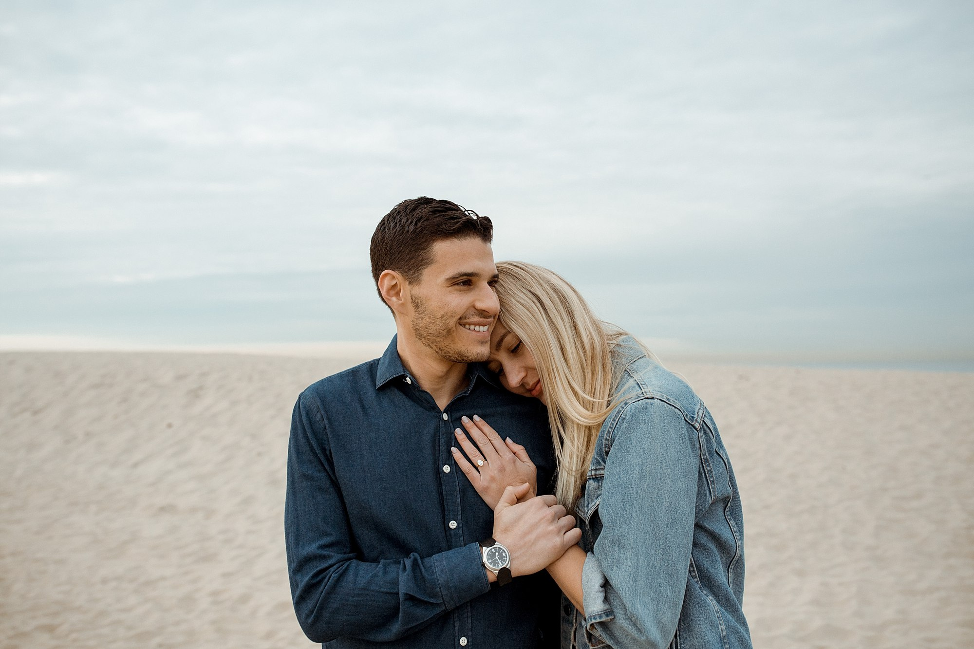 Courtney and Danny's Venice Beach California Engagement shoot