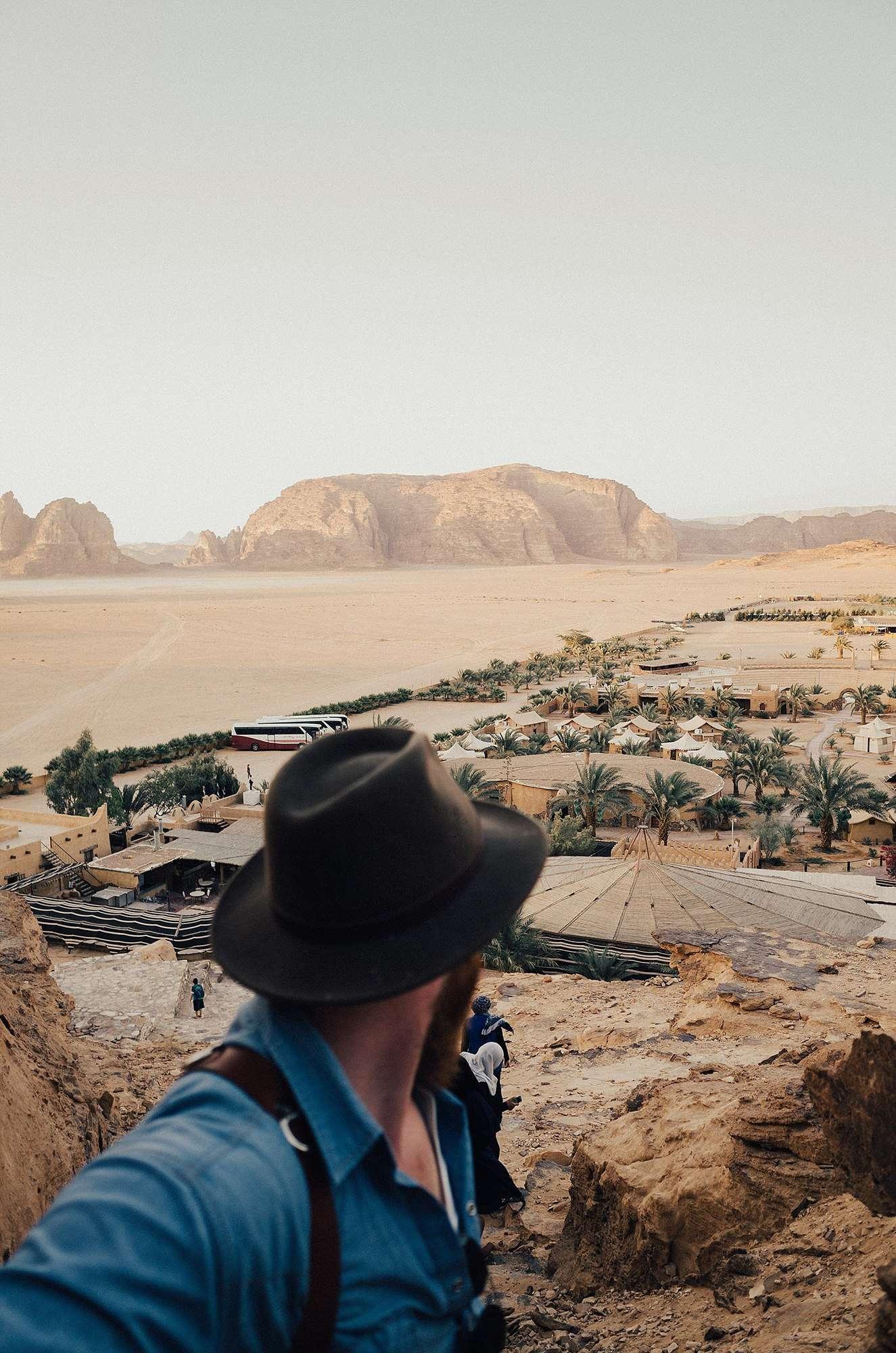wadi rum Jordan bedouin camp by anna jones