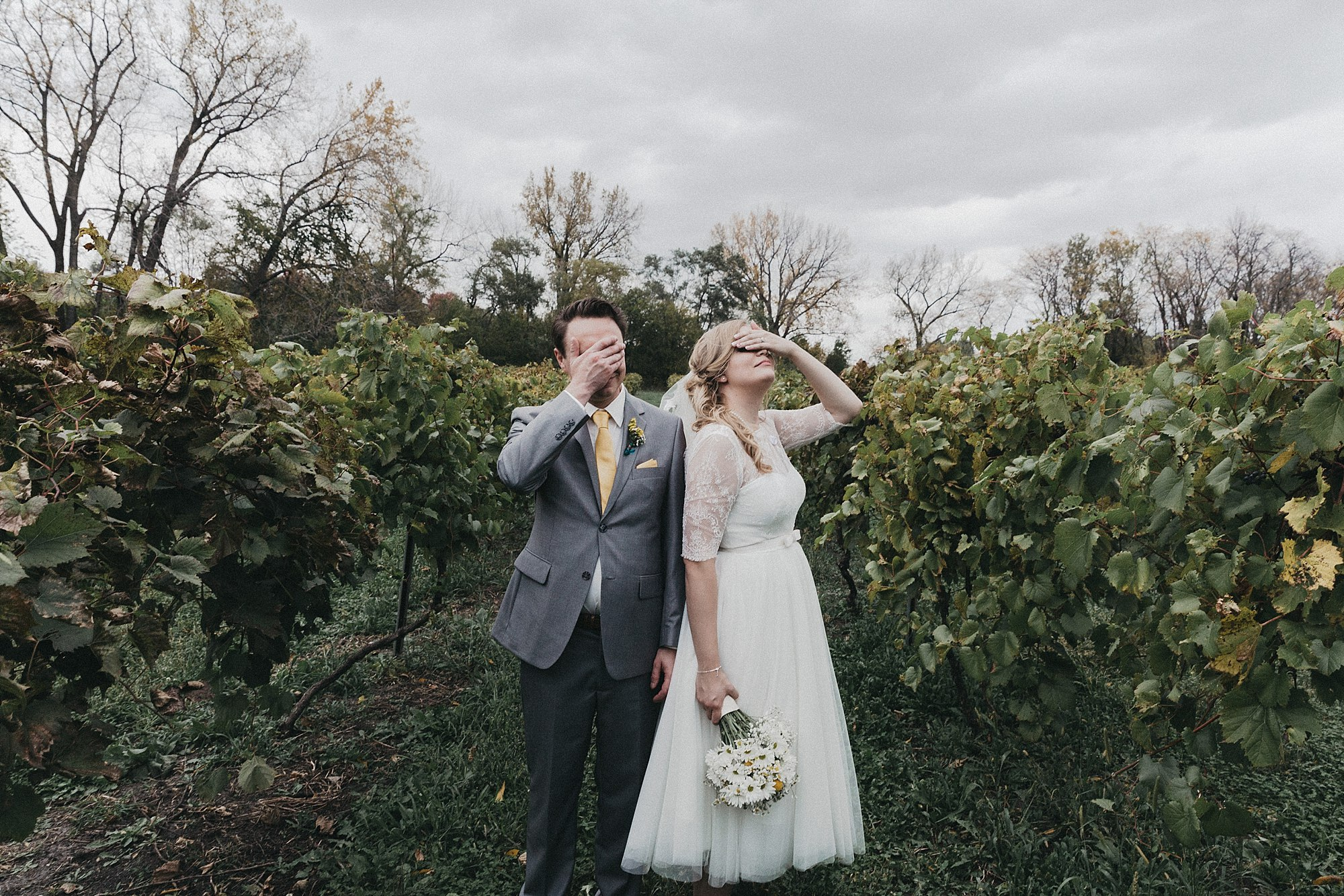 Mary and Benton's Beatles themed wedding in Des Moines