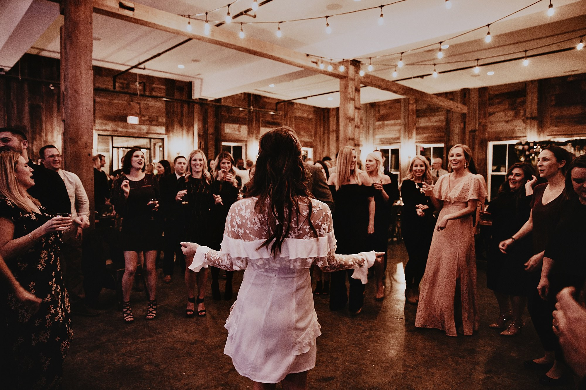 for love and lemons bride at rapid creek cider wedding in Iowa City
