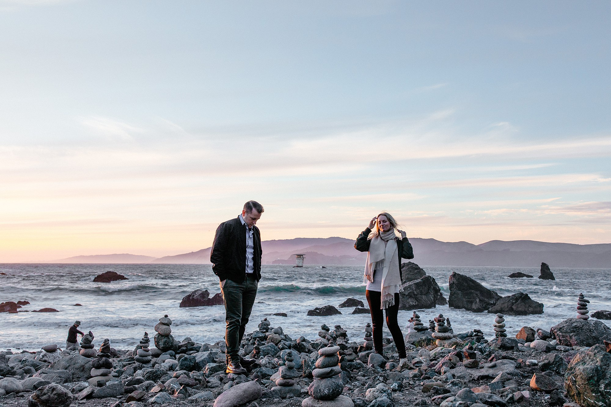 San Francisco engagement shoot by anna jones