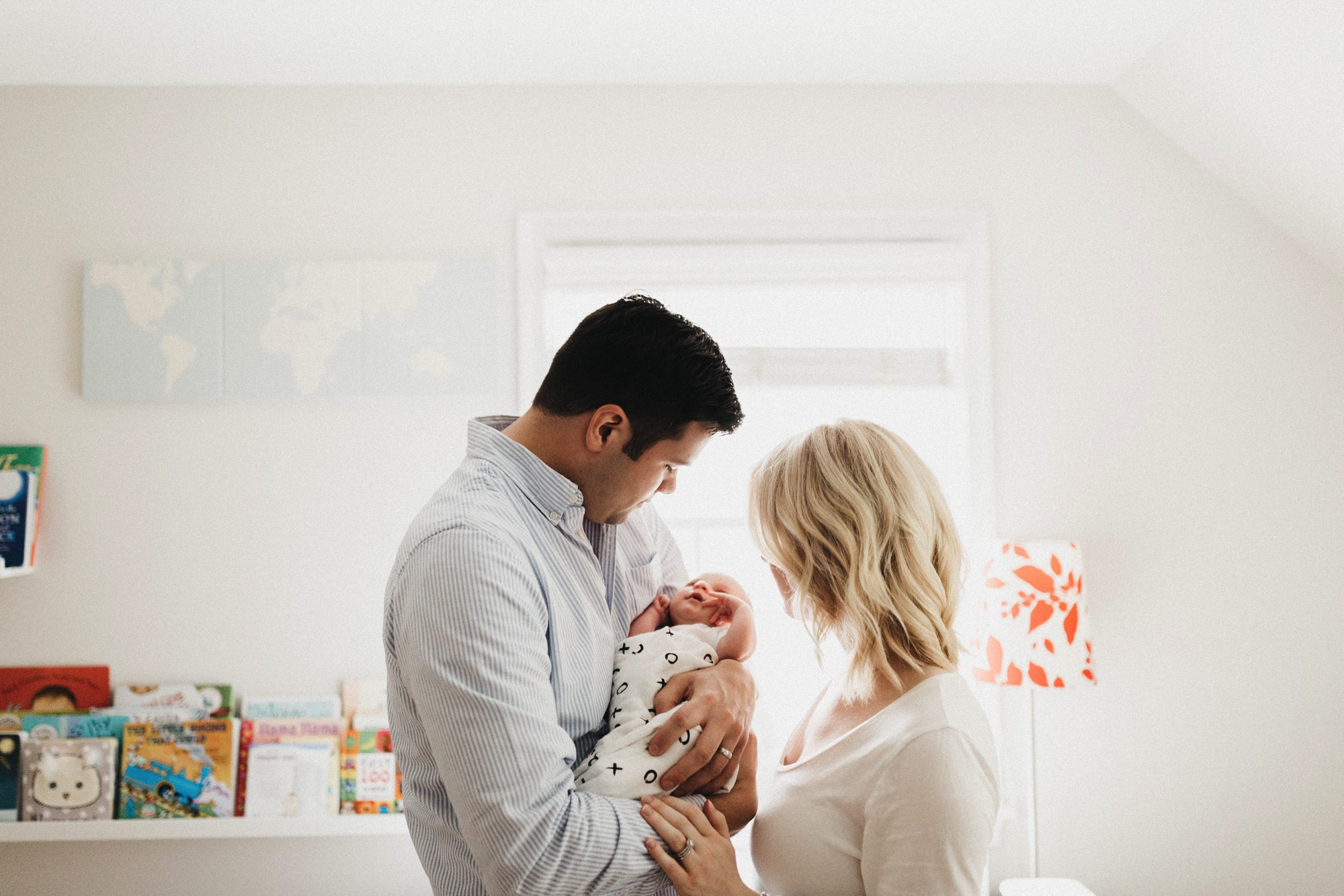 Jimmy and Gretchen centers welcome baby Mira by anna jones photographer