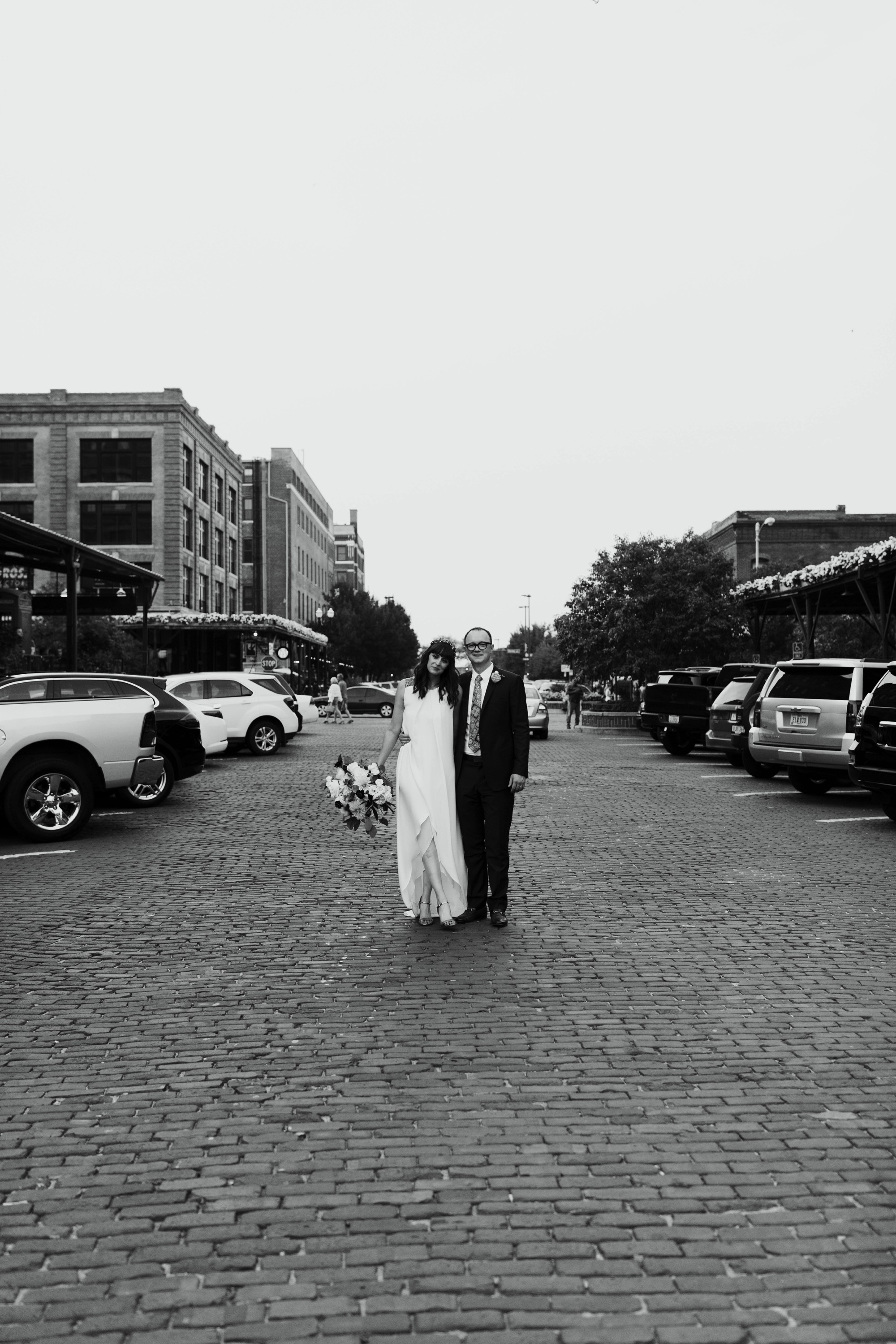 Intimate Wedding at Lucile's in Omaha Old Market District
