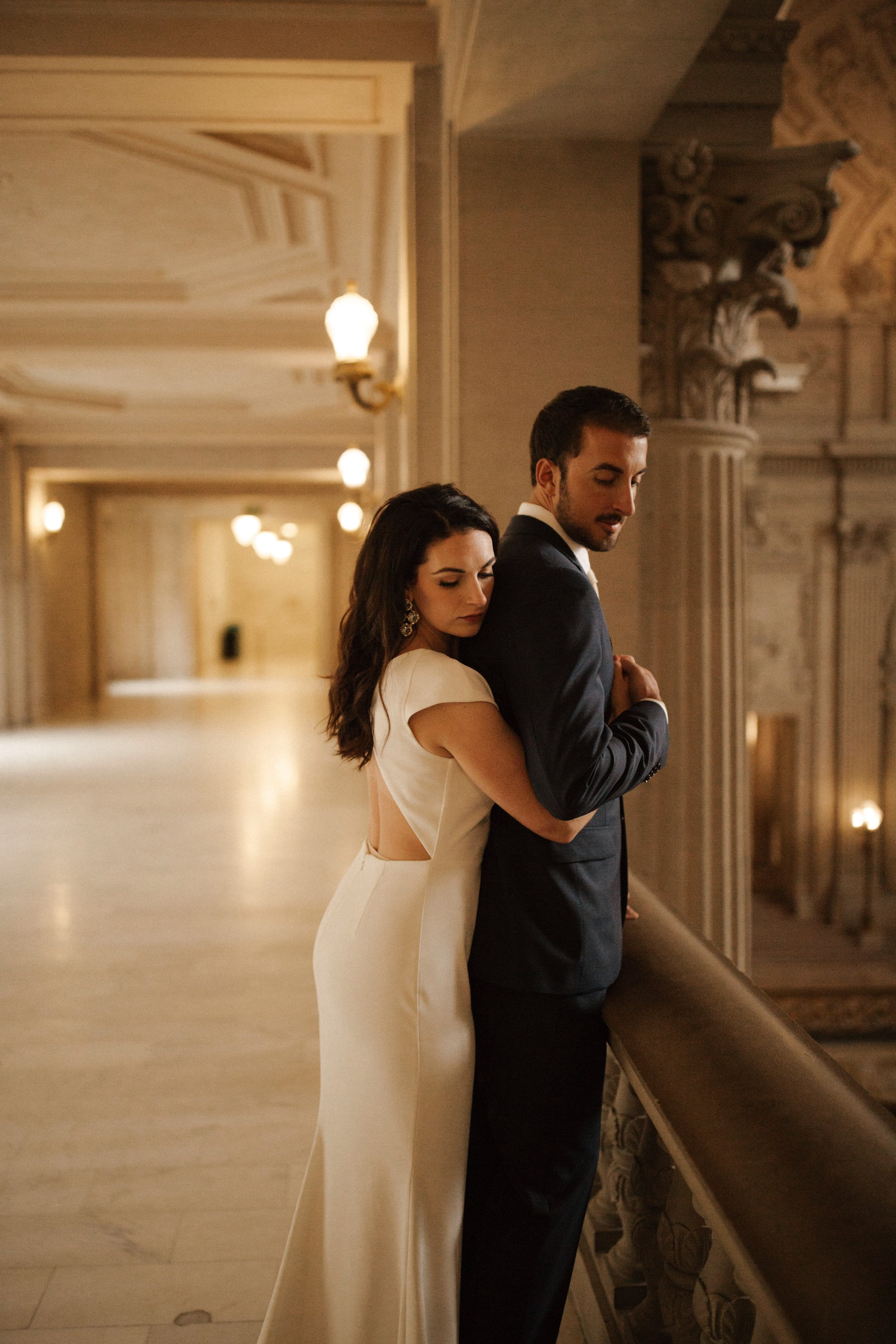 San Francisco City Hall Elopement on Style me Pretty