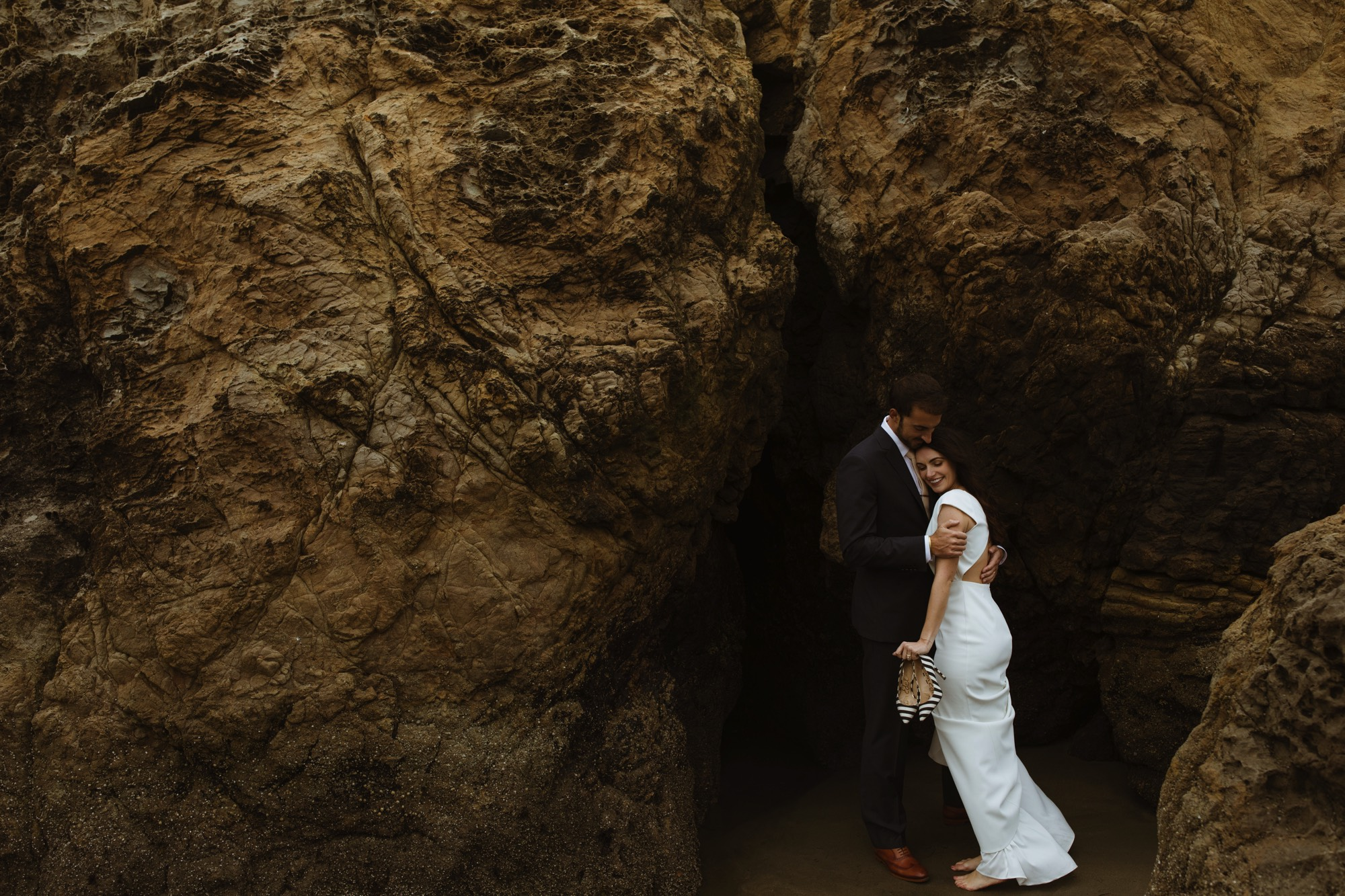 San Francisco Elopement Sutro Baths Style me Pretty