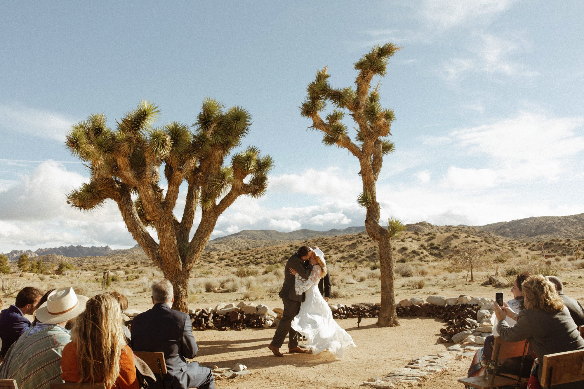 jess miller and tony Lemmo Joshua Tree Wedding at Rimrock Ranch