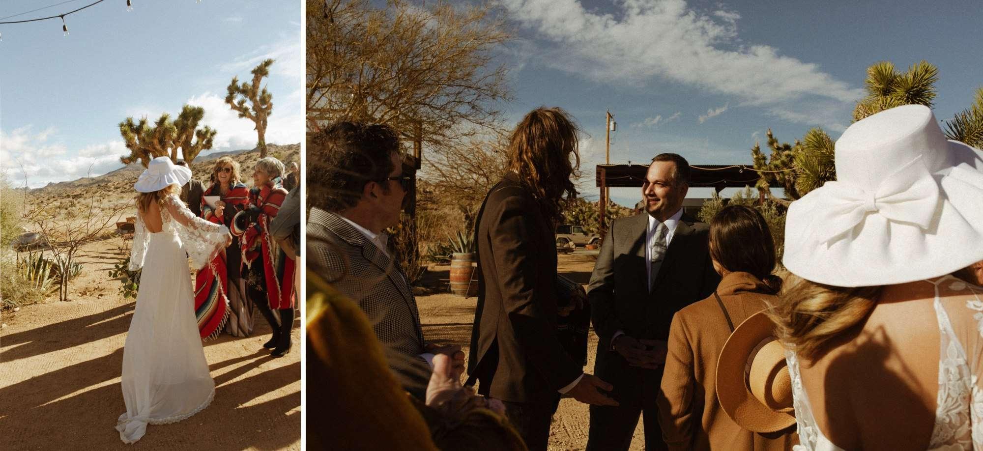 jess miller and tony Lemmo Joshua Tree Wedding at Rimrock Ranch