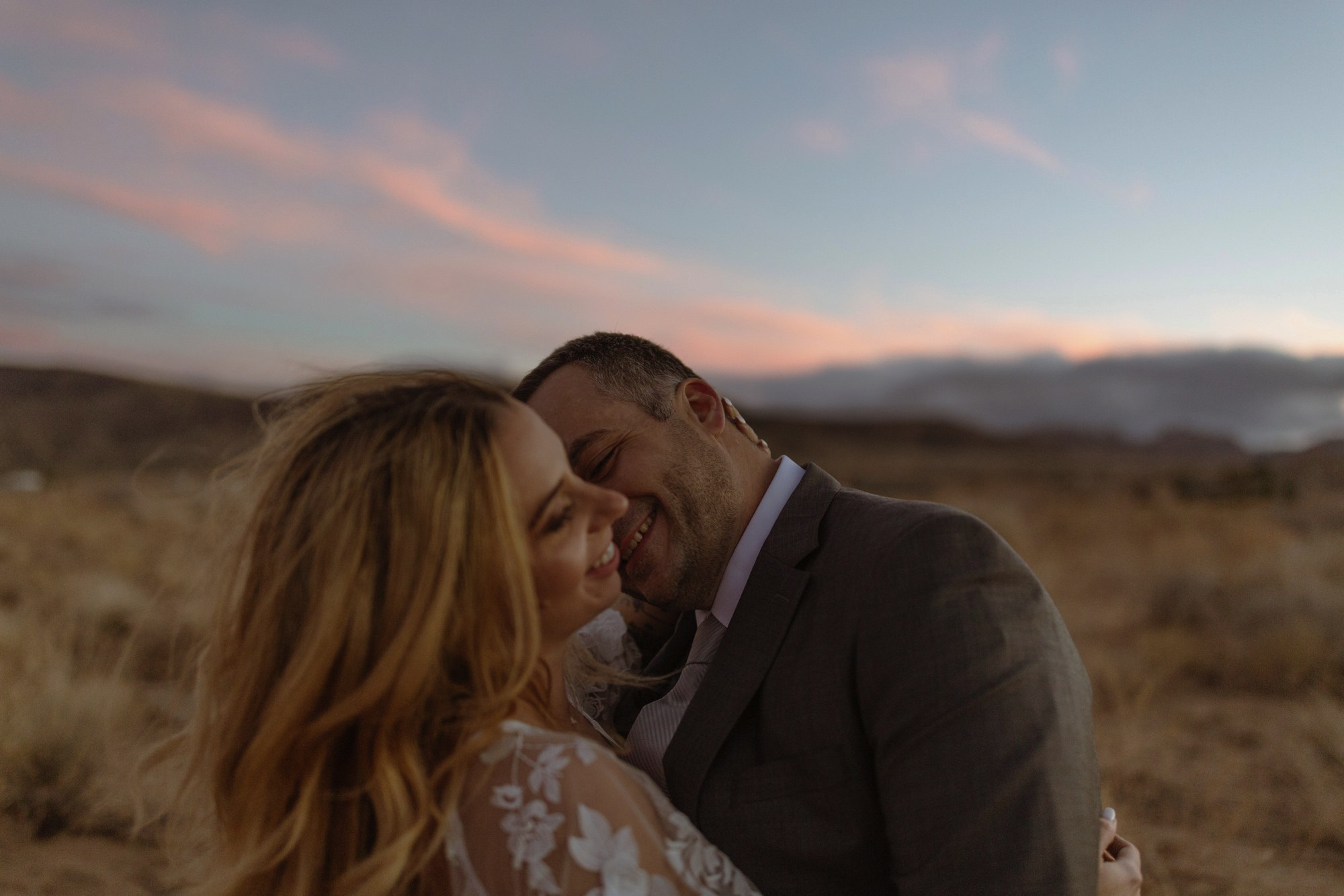 jess miller and tony Lemmo Joshua tree wedding
