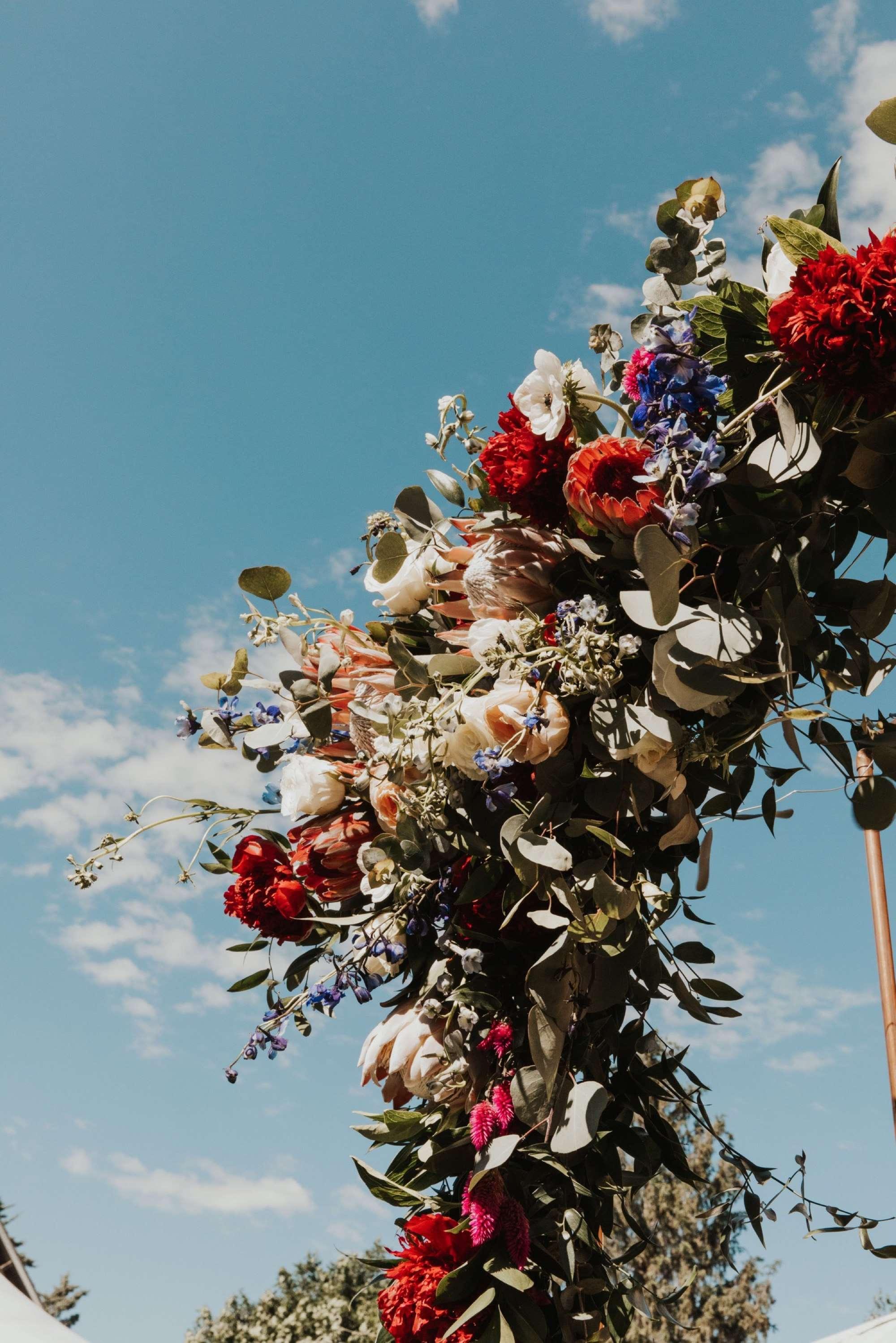 stonehaven barn wedding in Des Moines Wildflower