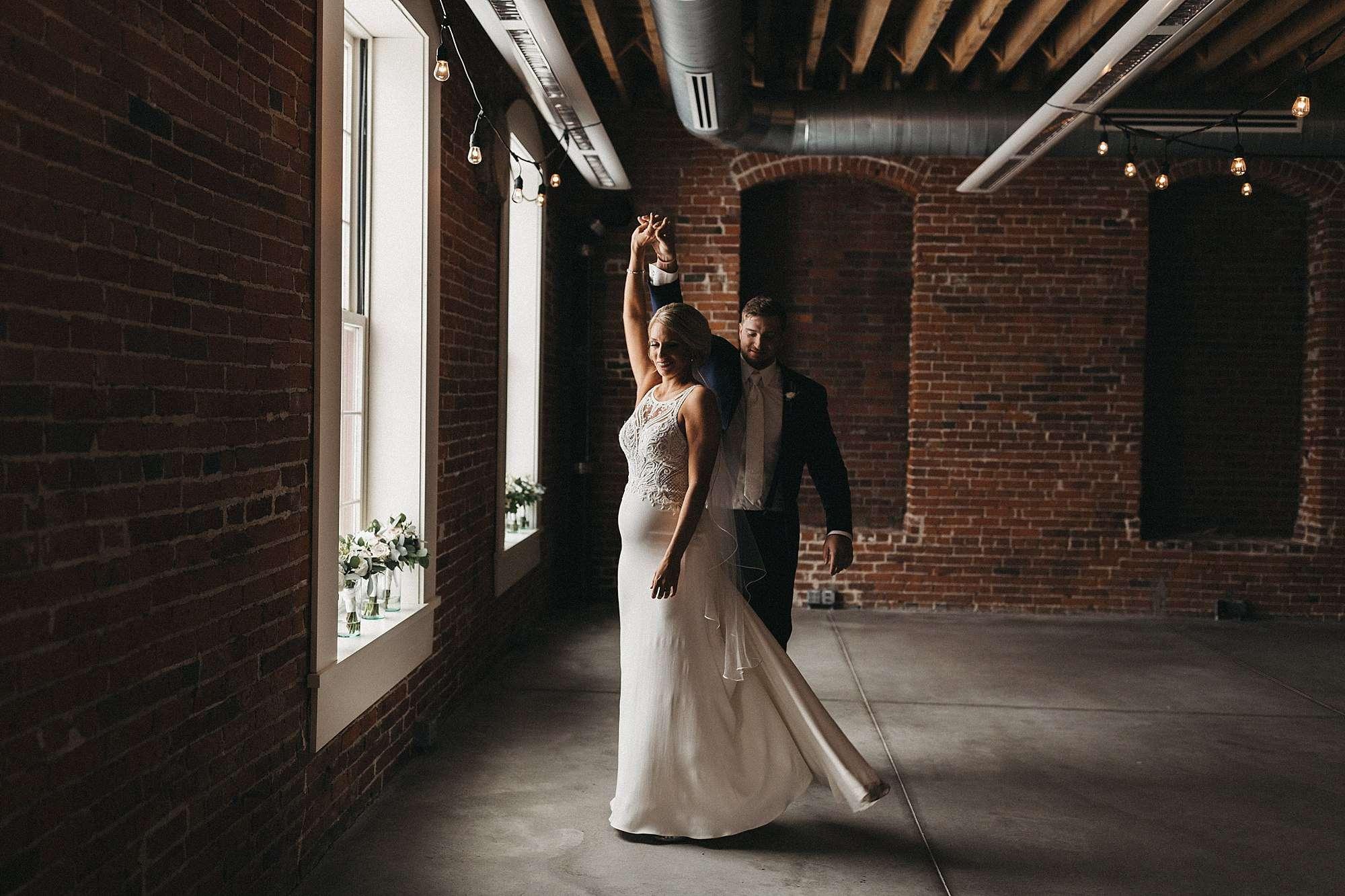 Newton Event Complex Wedding in Newton Iowa