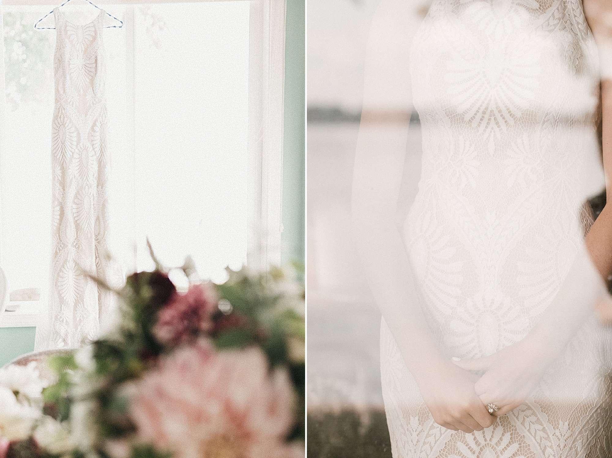 wilderly bride Marlowe gown lake okoboji wedding