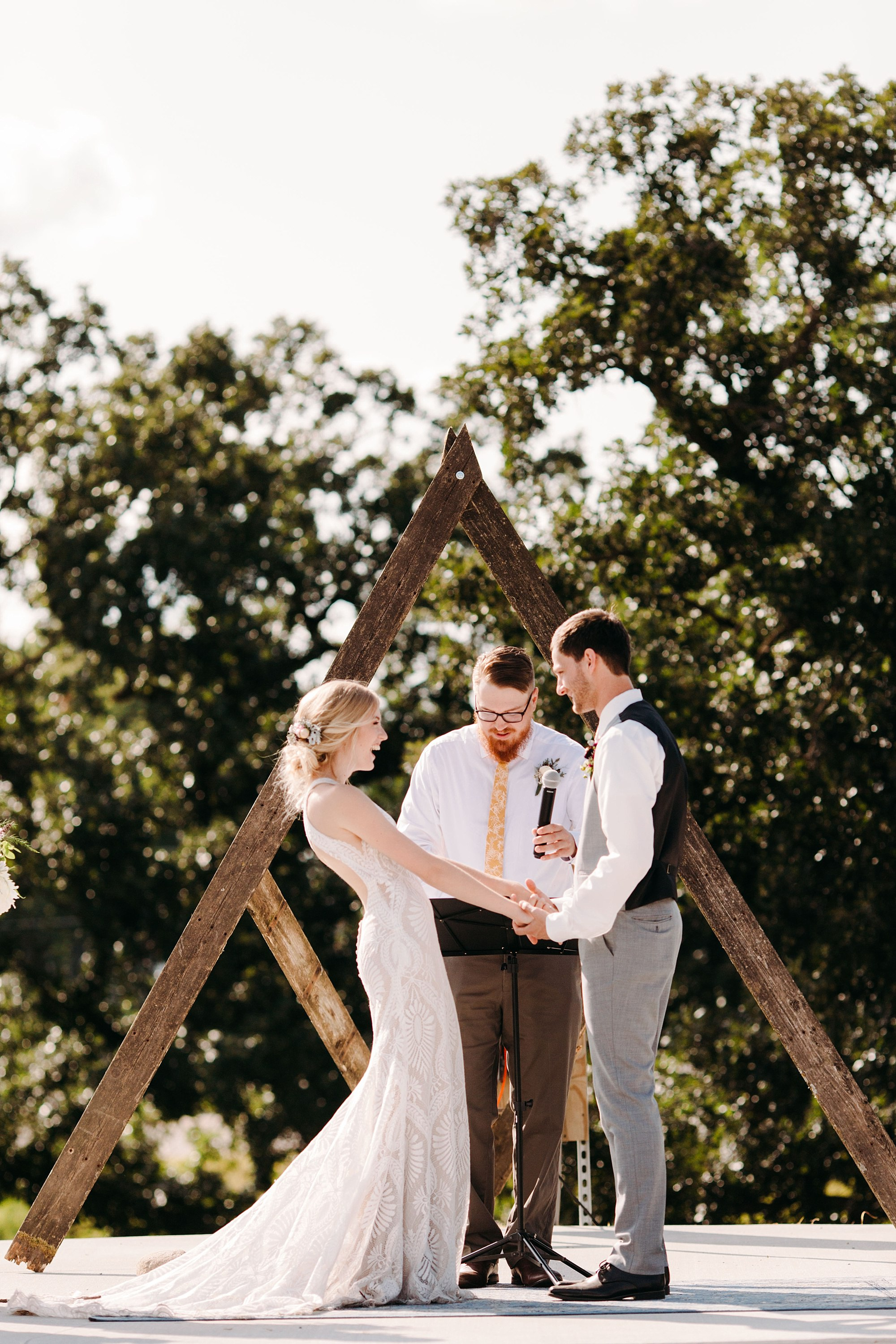 wilderly bride in boho lake okoboji wedding at the barn