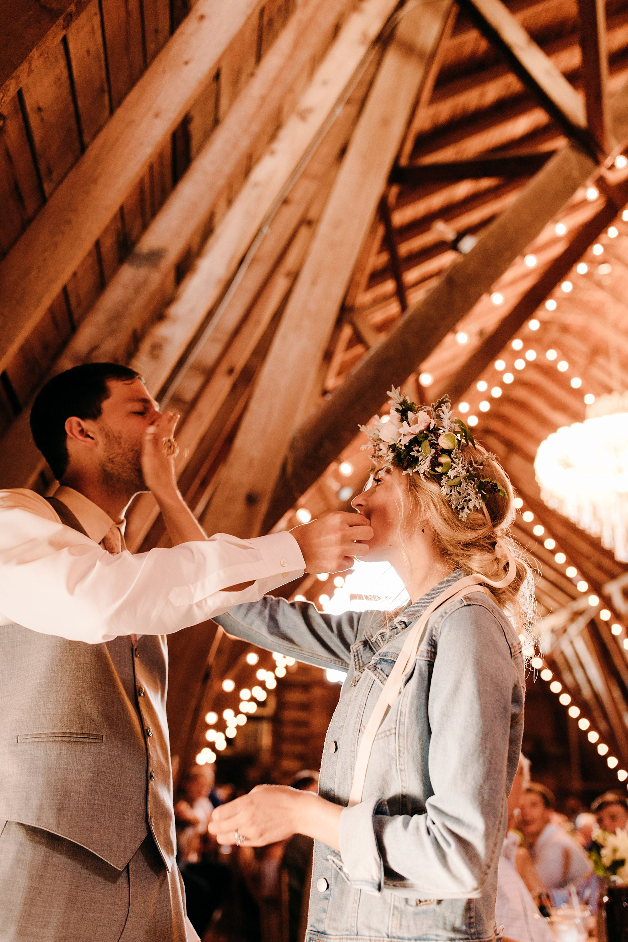 wilderly bride at lake okoboji barn wedding