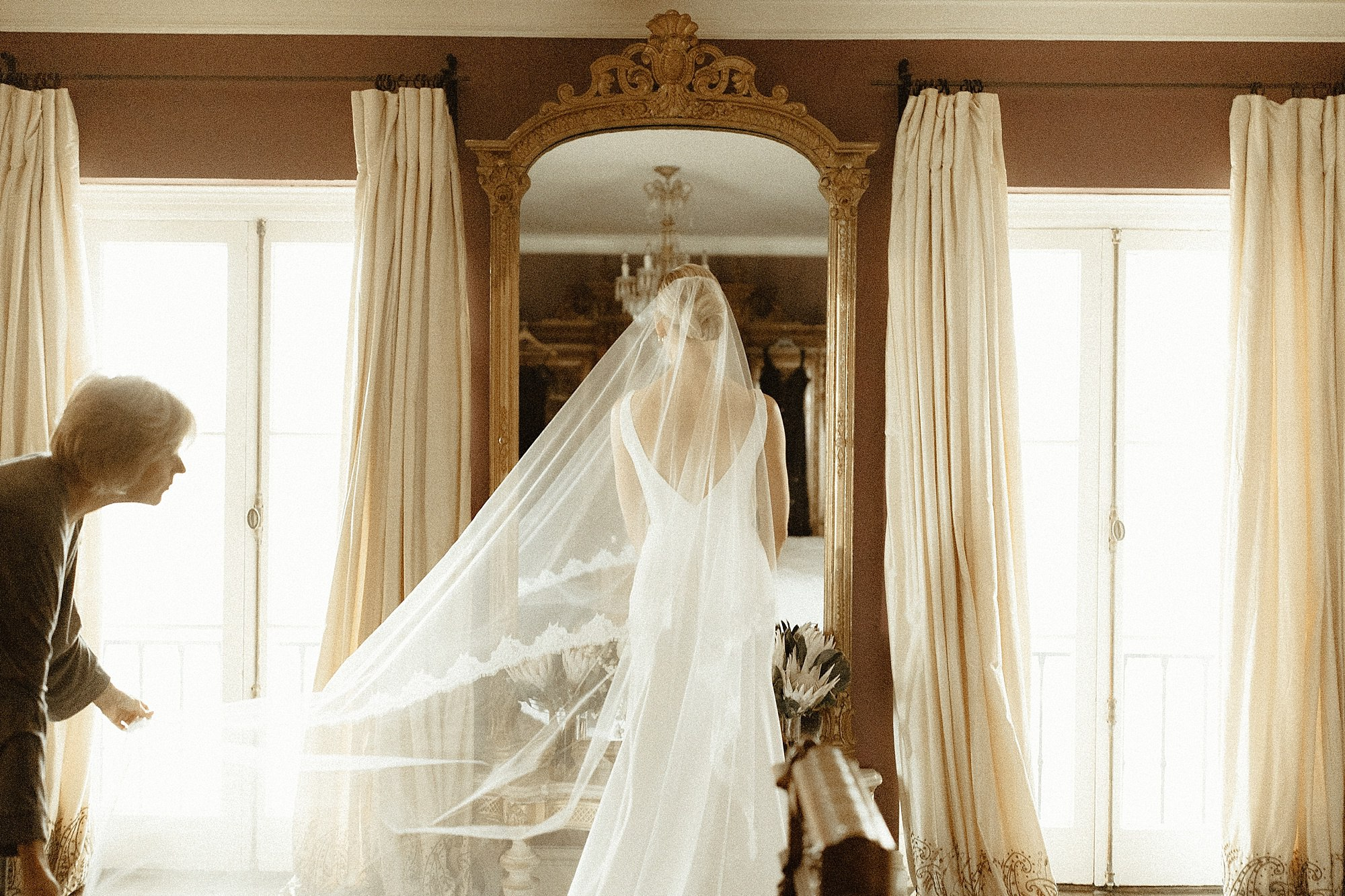 a Los Angeles wedding at the paramour estate