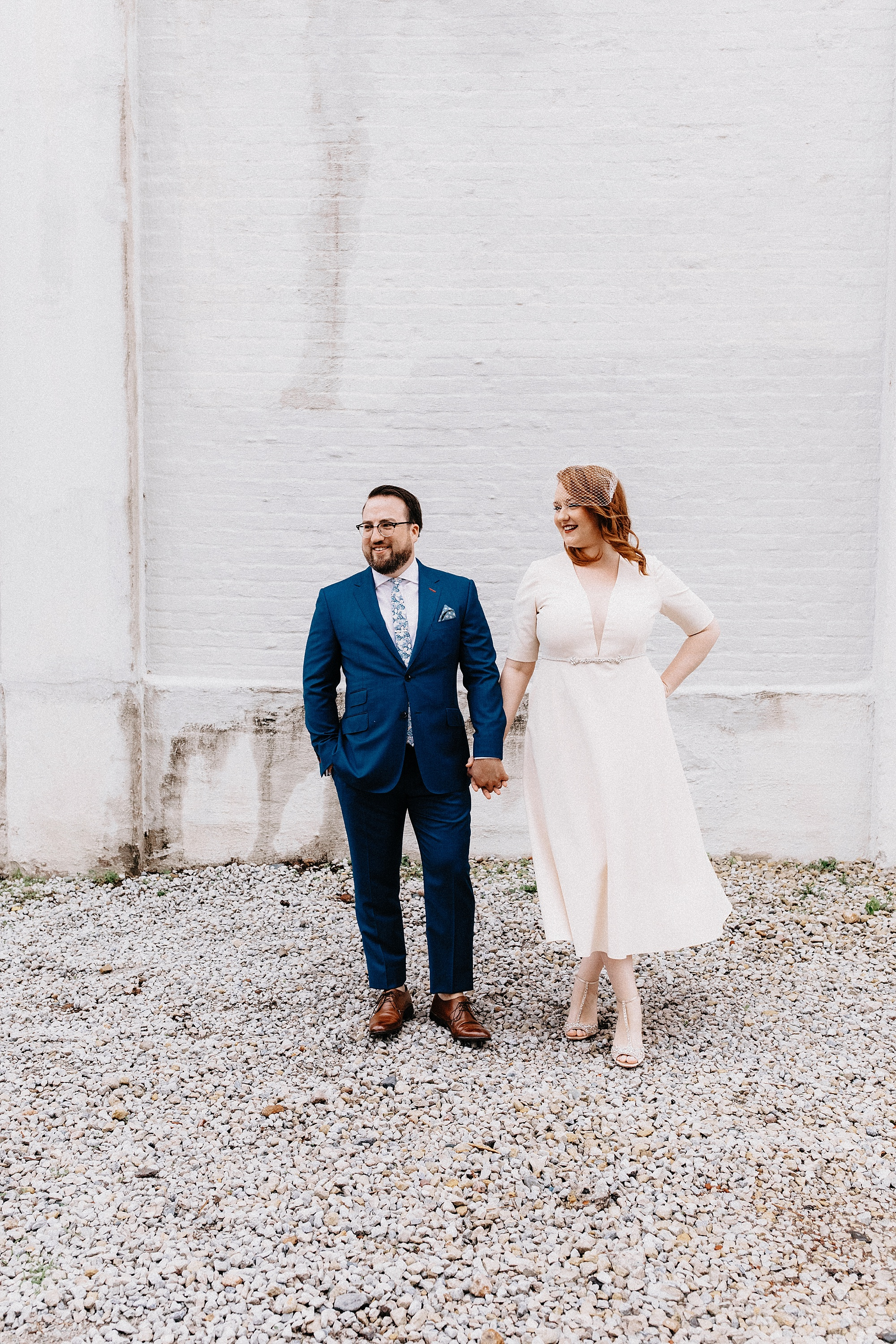 intimate downtown des moines wedding