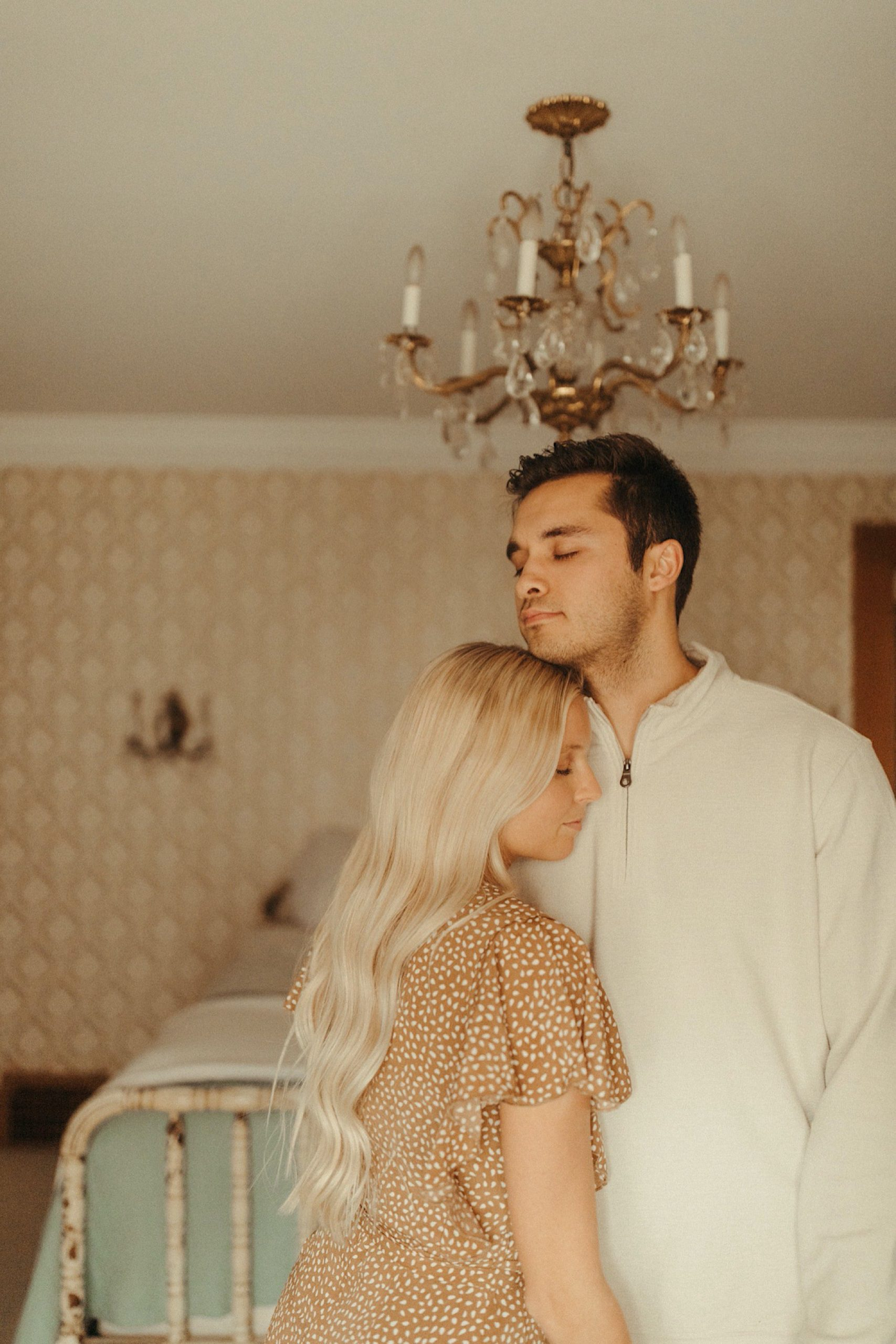 dreamy vintage inspired engagement shoot
