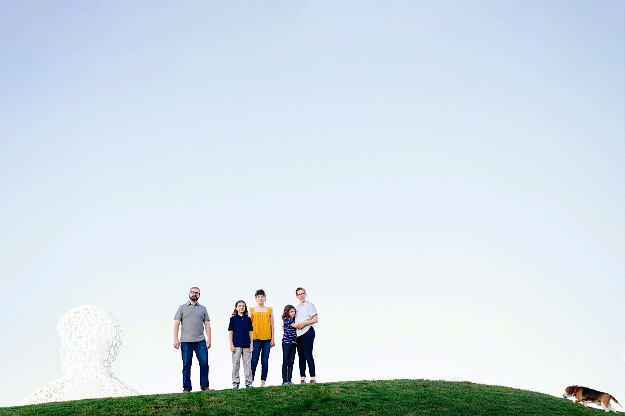 pappajohn sculpture park Des Moines family photographer