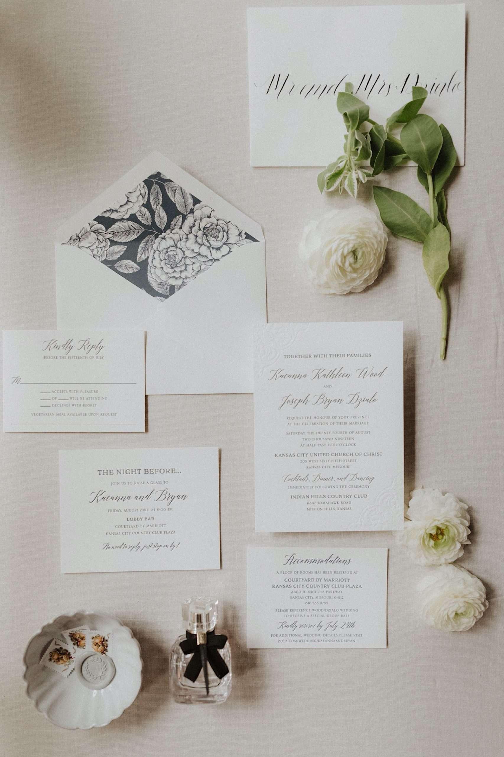 Kansas City wedding invitations